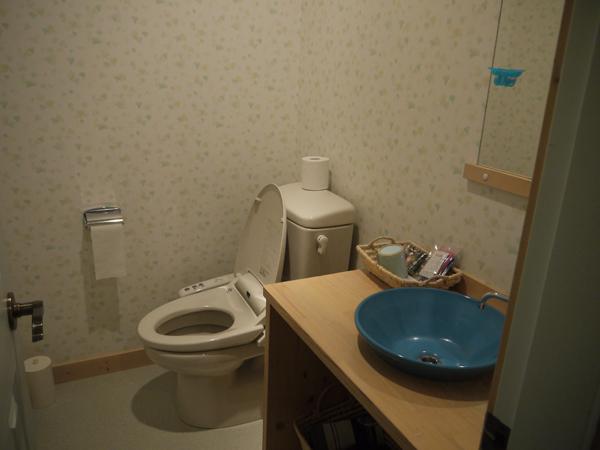 月宿 楽 -つきやど らっく- のSORAの部屋 トイレ