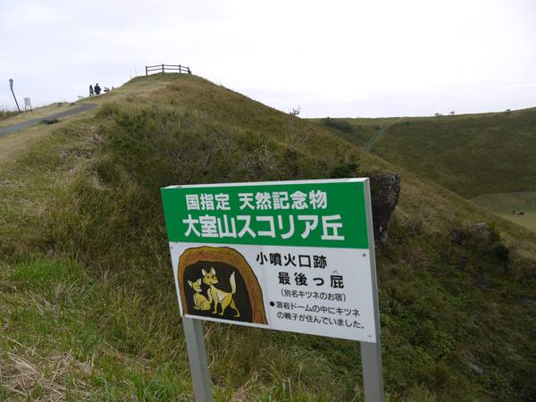 大室山スコリア丘