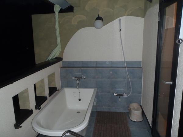 月宿 楽 -つきやど らっく- のSORAの部屋 露天風呂
