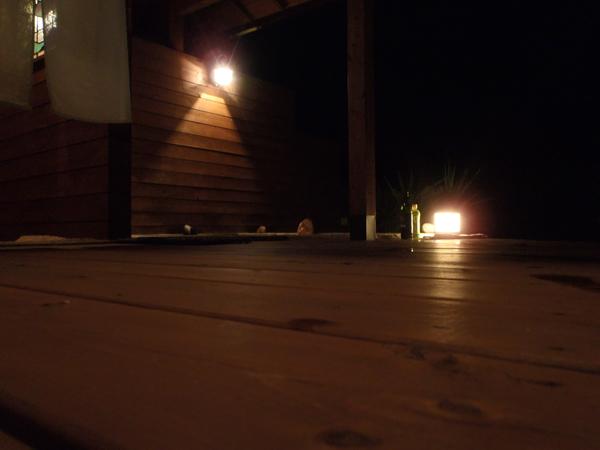 月宿 楽 -つきやど らっく- の露天風呂