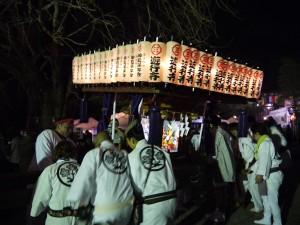 遊行寺年越し神輿