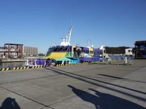 東海汽船 ジェット船