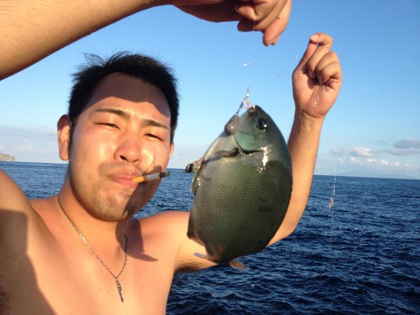 式根島 釣り
