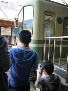 江ノ電江ノ島駅 写真会