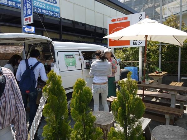 江ノ電江ノ島駅前のパン屋