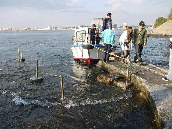 江ノ島遊覧船の船着き場