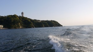 江ノ島遊覧船からの眺め1