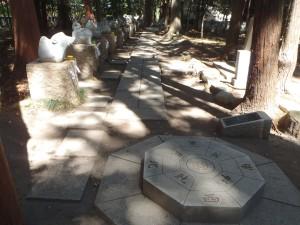 一宮浅間神社 成就石