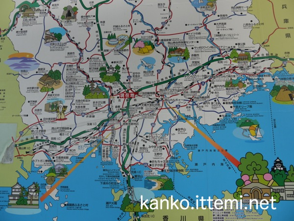 岡山マップ