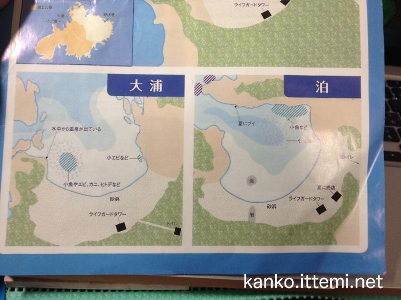 式根島ネイチャースイム ベスト3ガイド2