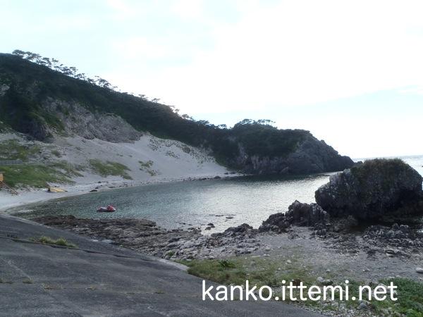 式根島 大浦海水浴場