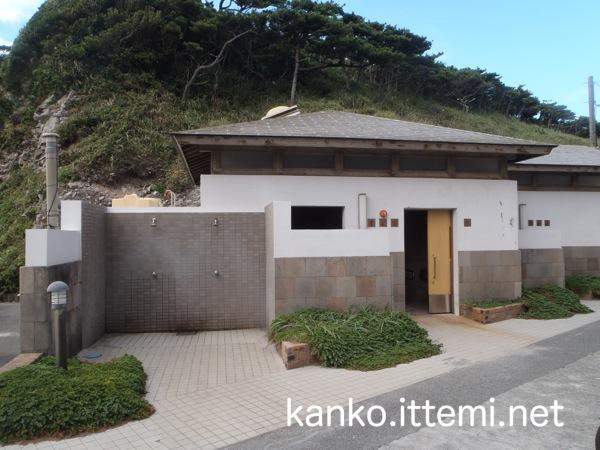 大浦海水浴場のトイレ