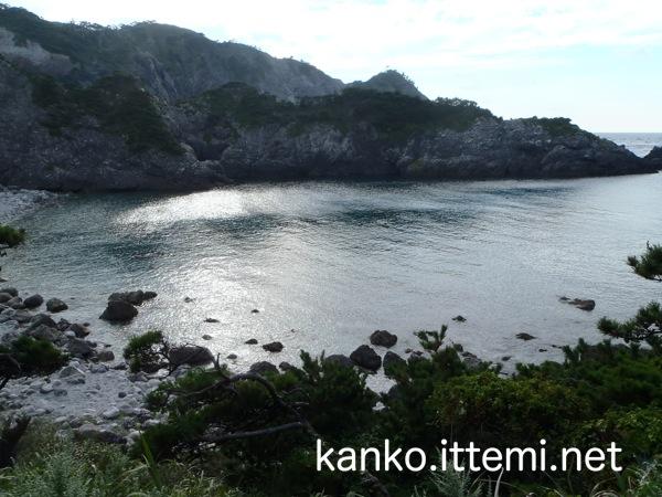 中ノ浦海水浴場(上から)