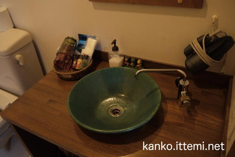 露天風呂付客室「Bari-バリ-」のアメニティーとか