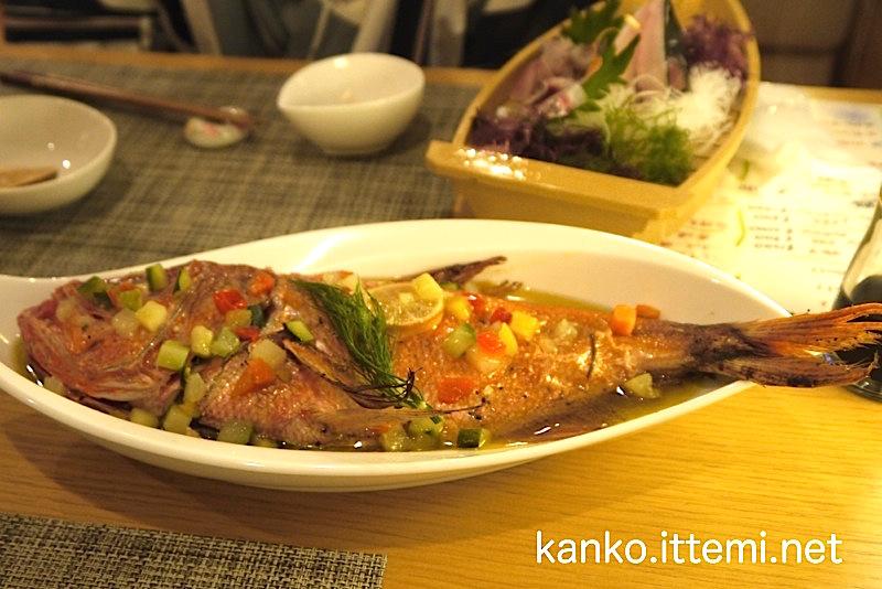 金目鯛の香草焼き1