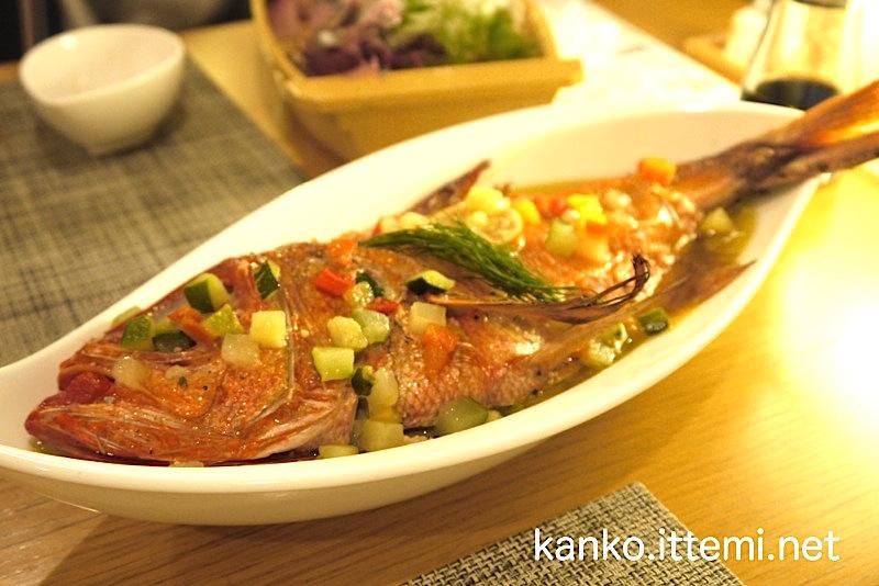 金目鯛の香草焼き2