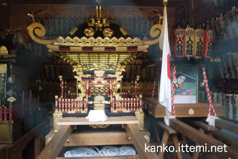 鈴鹿名神社の御神輿1