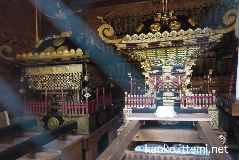 鈴鹿名神社の御神輿2