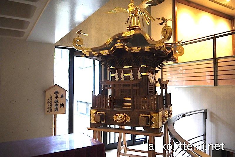 鈴鹿名神社の御神輿3