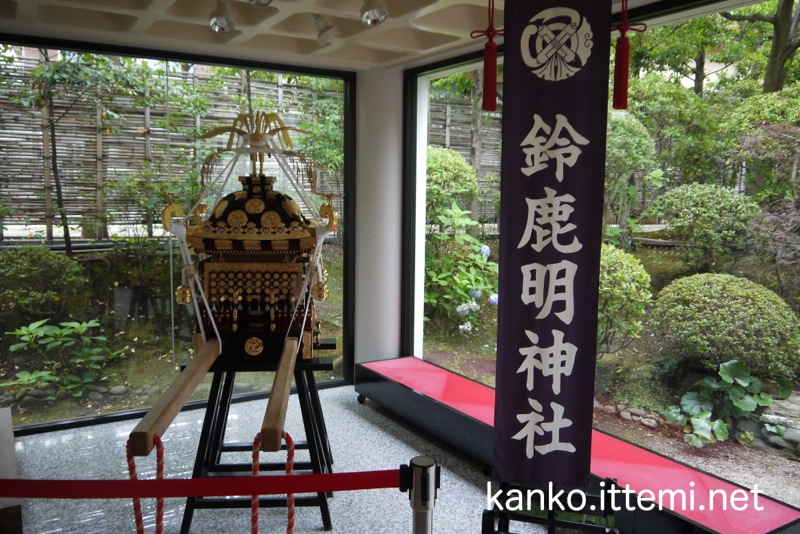 鈴鹿名神社の御神輿4