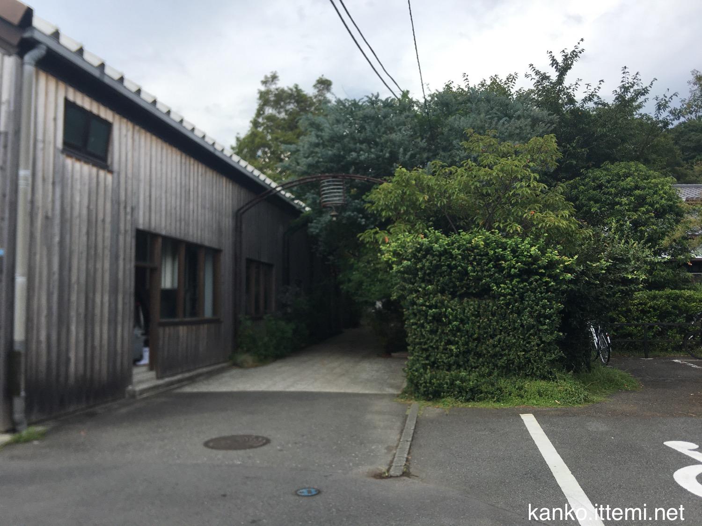 熊澤酒造の入り口